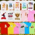Детские хлопковые футболки мелким оптом