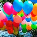 Гелиевые шары и воздушные