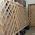 Шпалеры - решетка для окон из дерева от производителя.