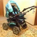 Продается коляска-трансформер RIKO Viper, фотография 3