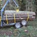 Лесовозный прицеп сортиментовоз ONIAR