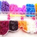 Набор для плетения фенечек Rainbow Loom bands (13 цветов)