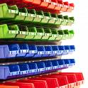 Стеллажи торгово-складские металлические под пластиковые ящики