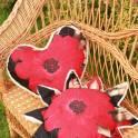 Декоративная шерстяная подушка MagicWool