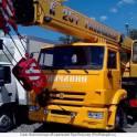 Кран автомобильный КС-55713-1В на шасси КАМАЗ-65115