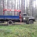 На окраинах Рязанской области работаем на Автокранах и Манипуляторах