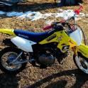 Продам кроссовый мотоцикл Suzuki 50сс 4т в отличном состоянии