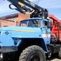 Лесовоз Урал 55571-70 с гидроманипулятором ОМТЛ-70.02. Купить. Новый, фотография 3
