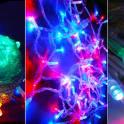 Новая светодиодная гирлянда на елку