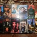 Видеокассеты с фильмами и видеоклипами