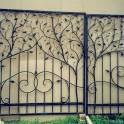 ворота навесы ограды ковка