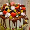 Торт ручной работы Red Velvet (Красный бархат)