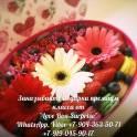 Коробочки с цветами|макаруни|Love Box Surprise