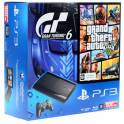 Playstation 3 Slim 500 Gb + GTA 5 и Gran Turismo 6