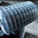 Кладочная сетка оцинкованная и не оцинкованная в рулонах