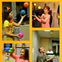 Жонглирование, быстрое обучение по цирковой методике. Занятия в группах, дети и взрослые.