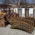 Беседки, перголы, крыльцо, мостики, вазоны деревянные , фотография 7