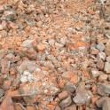 Бой кирпича и строительный мусор для остыпки