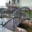 Скамейки, качели, мостики, арки