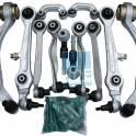 Передняя подвеска (комплект) HDE 104001 для AUDI A4, A6, VW PASSAT B5