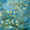 «Цветущая ветка миндаля, Ван Гог» Раскраска по номерам