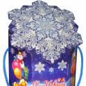 Подарок 400 г. Праздничная снежинка