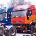 Разбор грузовых иномарок в Пензенской области на трассе М5, 714 км!