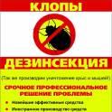 дезинсекция в вашем доме!!! (уничтожение клопов, тараканов и др. насекомых)