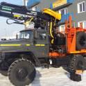 Заводские лесовозные тягачи Урал 55571-70М, 2017 г.в  Е-4 с манипулятором Омтл-97