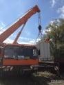 Установка и перемещение крупногабаритного оборудования.