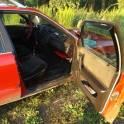 Audi 100 красный универсал 5 дверей, 1987 г., фотография 3