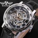 Элитные механические часы Skeleton Winner