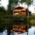 Уютные коттеджи на берегу озера! база отдыха