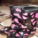 Резиновые сапожки для девочки, фотография 2