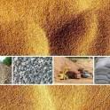 Доставка стройматериалов - щебень, песок, мраморная крошка, ПГС и др.