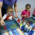 Мастер-класс рисование картин на воде в технике Эбру