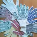 перчатки хб с ПВХ от производителя