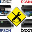 Ремонт и обслуживание струйных принтеров