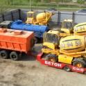 Изготовление бетона на участке