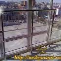 Ограждения балконов,лоджий.террас из нержавейки