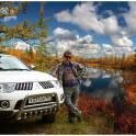 Авто с пробегом Мицубиси Pojero Sport 2012 г, белый перламутр, состояние идеальное