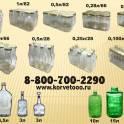 Купить стеклянные водочные бутылки и бутыли для брожения