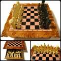 Ручная работа – шахматы по оригинальным эскизам