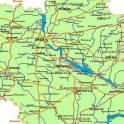 Изготовление карт городов и областей, регионов России и стран СНГ