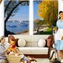 уборка домов,квартир,коттеджей,дач