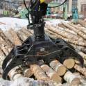 Захваты для леса - Грейферы для бревен, для леса, пиломатериалов.
