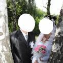 Свадебные:платье и костюм