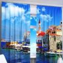 Фото шторы с 3D рисунком, фотография 5