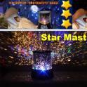 Ночник проектор звездного неба Star Master (Стар Мастер) с адаптером питания