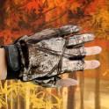 Перчатки лучников, охотников камуфляж маскировка Бесплатная доставка